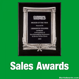 Sales Awards Plaques
