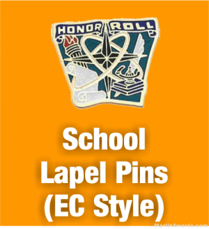 School Lapel Pins (EC Style)