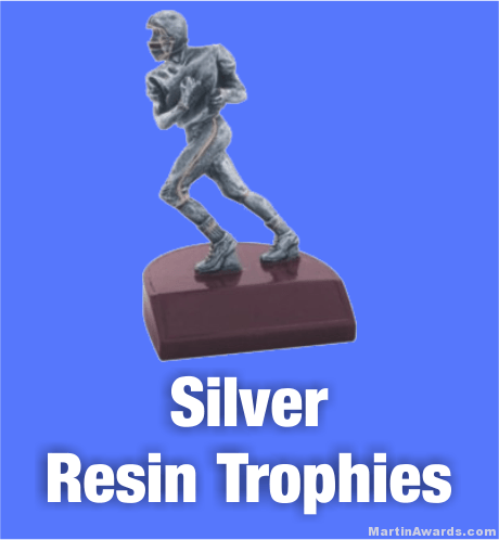 Silver Resin Trophies