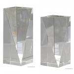 Crystal Triangle Face Pillar