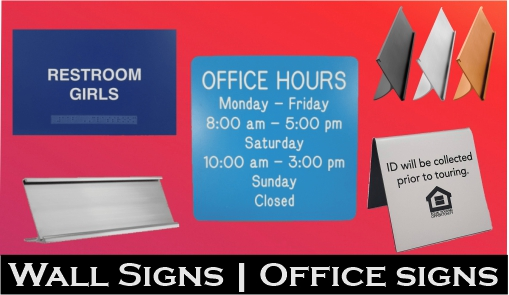 Wall Signs - Office Signs