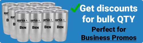 Wholesale pricing for Tumblers business orders