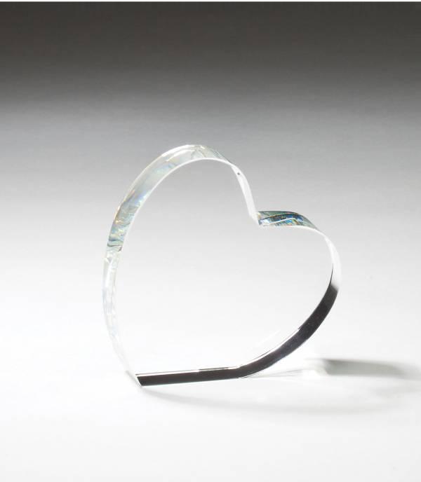 4″ Crystal Heart