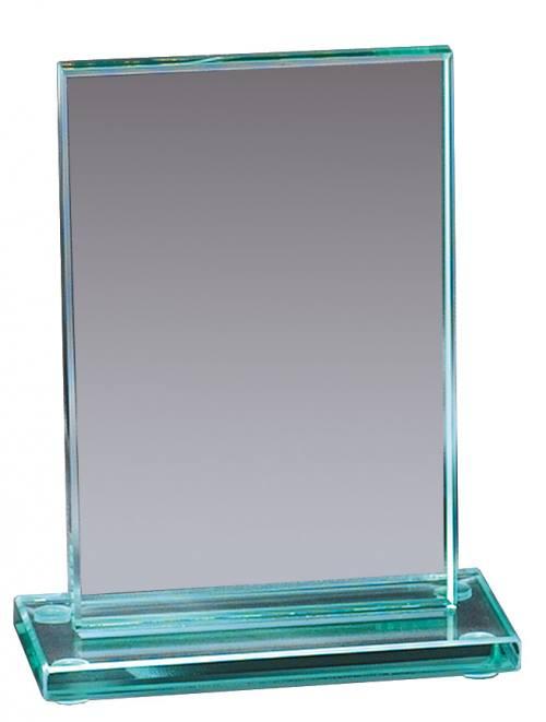Rectangular Jade Glass Award