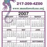 Business Calendar Magnet – Large – Four Color Process 1