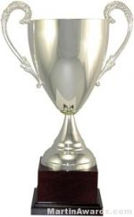 "14-1/4""  ARG 1000 Silver Plated Trophy Cup"