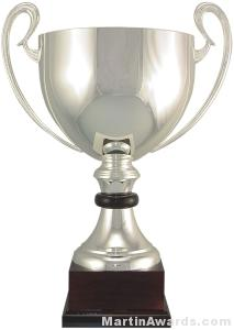 20-1/2″  ARG 1000 Silver Plated Trophy Cup 1