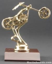Chopper Motorcycle Trophy