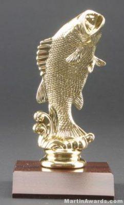 Standing Bass Trophy