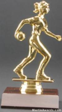 Female Bowler Trophy