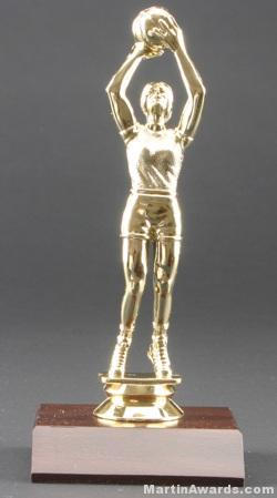 Female Basketball Trophy 1
