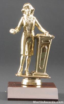 Female Public Speaker Trophies 1