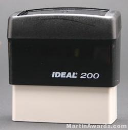 Ideal 200 Custom Rubber Stamps