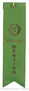 Small Ribbon, Honorable Mention Ribbons