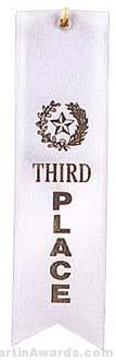 Small Ribbon, Third Place Ribbons