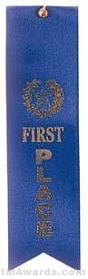 Small Ribbon, First Place Ribbons 1