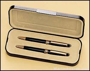 Euro Pen and Pencil Set – Black 1
