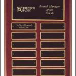 Plaque – Piano-Finish Perpetual Plaque 1