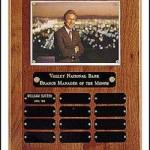 Plaque – Certificate/Photo Perpetual Plaque 1