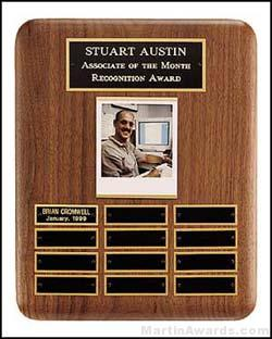 Plaque - Perpetual Plaques with Photo Holder and 12 Plates