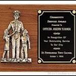 Plaque – Police Award 1