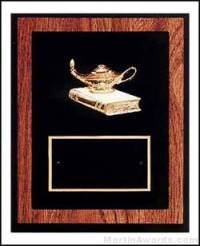 "Trent Series - 8"" x 10"" Walnut Plaques with Sport Cast Relief"