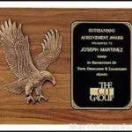 Plaque – Sculptured Relief Eagle Casting Plaques 1