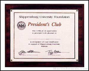 Plaque – Photo or Certificate Plaques 1