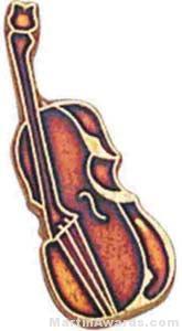 3/4″ Cello Or Bass Lapel Pin 1