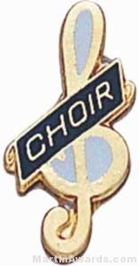 "3/4"" Enameled Choir Pin"