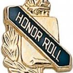 3/8″ Honor Roll School Award Pins 1