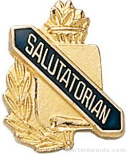 "3/8"" Salutatorian School Pins"