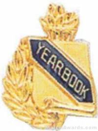 "3/8"" Yearbook Scholastic Award Pins"