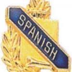 3/8″ Spanish Academic Award Pins 1