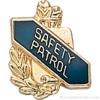 "3/8"" Safety Patrol School Pins"