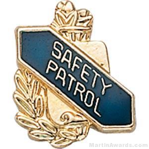 """3/8"""" Safety Patrol School Pins"""