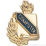 3/8″ Compute School Award Pins 1