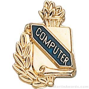"3/8"" Compute School Award Pins"