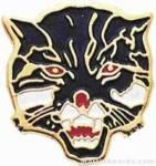 "3/4"" Enameled Wildcat Mascot Pin"
