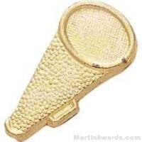 "1 1/2"" Megaphone Chenille Letter Sports Pins"