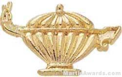 1 1/8″ Lamp Of Learning Academic Letter Insert Pins 1