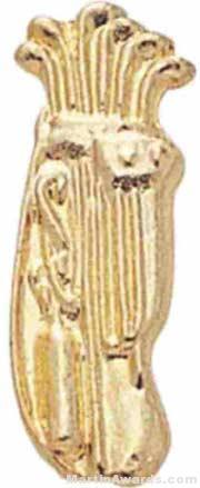 "7/8"" Gold Chenille Letter Insert Pins"