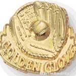 Ball & Golden Glove Custom Lapel Pins 1