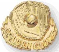 Ball & Golden Glove Custom Lapel Pins