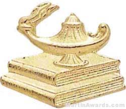 1″ Lamp Of Learning Chenille Letter Insert Pins 1