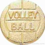 3/8″ SMALL VOLLEYBALL CHENILLE PIN 1