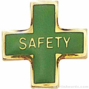 Safety Enameled Lapel Pins 1