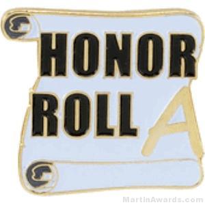 A Honor Roll Award Lapel Pin 1