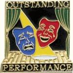 Outstanding Performance Award Lapel Pin 1