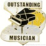 Outstanding Musician Award Lapel Pin 1